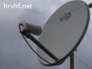 Predajna antena za rad preko satelita QO - 100